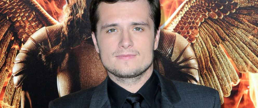 "PHOTO: Josh Hutcherson arrives at the Los Angeles premiere of ""The Hunger Games: Mockingjay - Part 1"" at Nokia Theatre L.A. Live, Nov. 17, 2014, in Los Angeles."