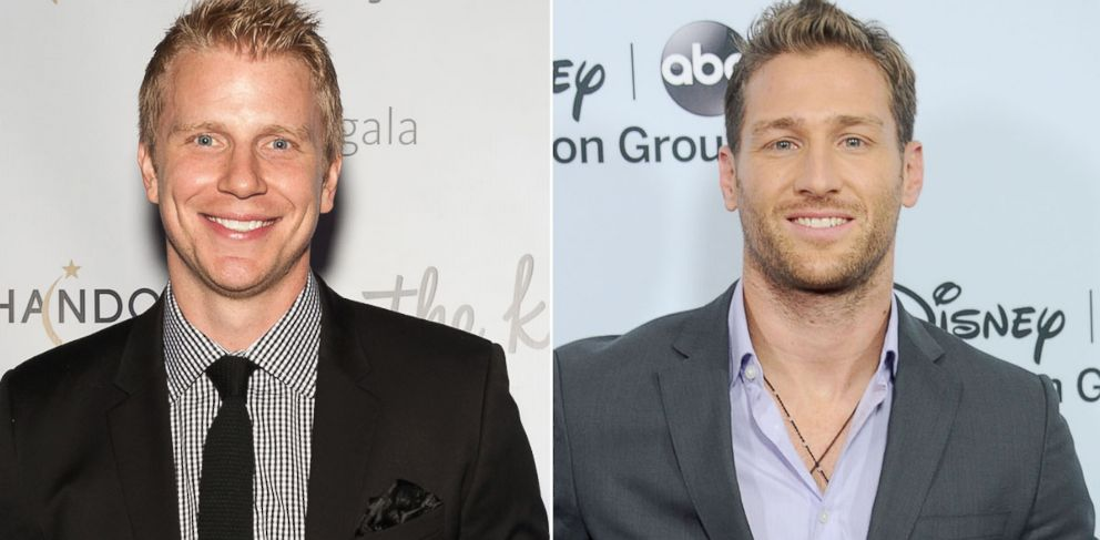 PHOTO: From left, Sean Lowe in New York, Oct. 14, 2013 and Juan Pablo Galavis in Pasadena, Calif., Jan. 7, 2014.
