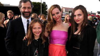 Judd Apatow and Leslie Manns Daughters