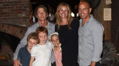 Julia Roberts and Danny Moder Step Out With Their Kids, Phinnaeus, Henry and Hazel