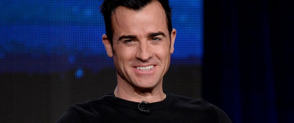 "PHOTO: Justin Theroux speaks onstage at the ""The Leftovers"" panel at the The Langham Huntington Hotel and Spa in Pasadena, Calif., Jan. 9, 2014."