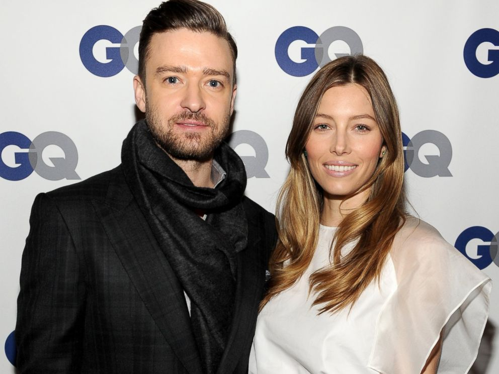 PHOTO: Justin Timberlake and Jessica Biel attend the GQ Men of the Year dinner, Nov. 11, 2013m in New York City.
