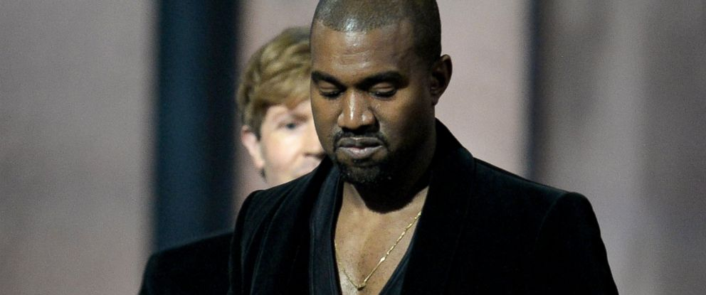 PHOTO: Winner for Album Of The Year Beck reacts as Kanye West leaves the stage at the 57th Annual Grammy Awards in Los Angeles, Feb. 8, 2015.