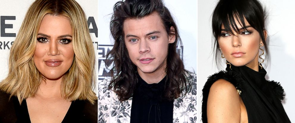 PHOTO: Khloe Kardashian, Harry Styles and Kendall Jenner.