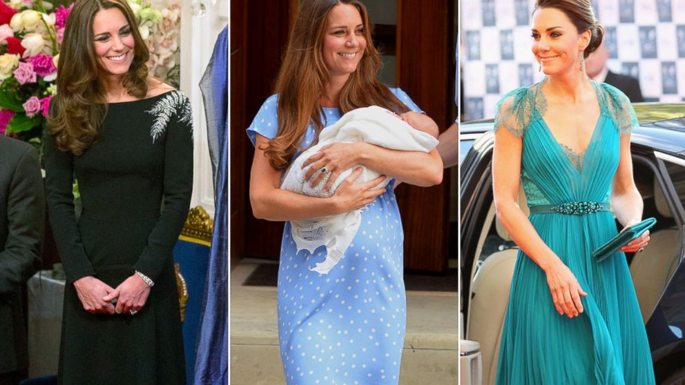PHOTO: Kate Middleton in Jenny Packham dresses