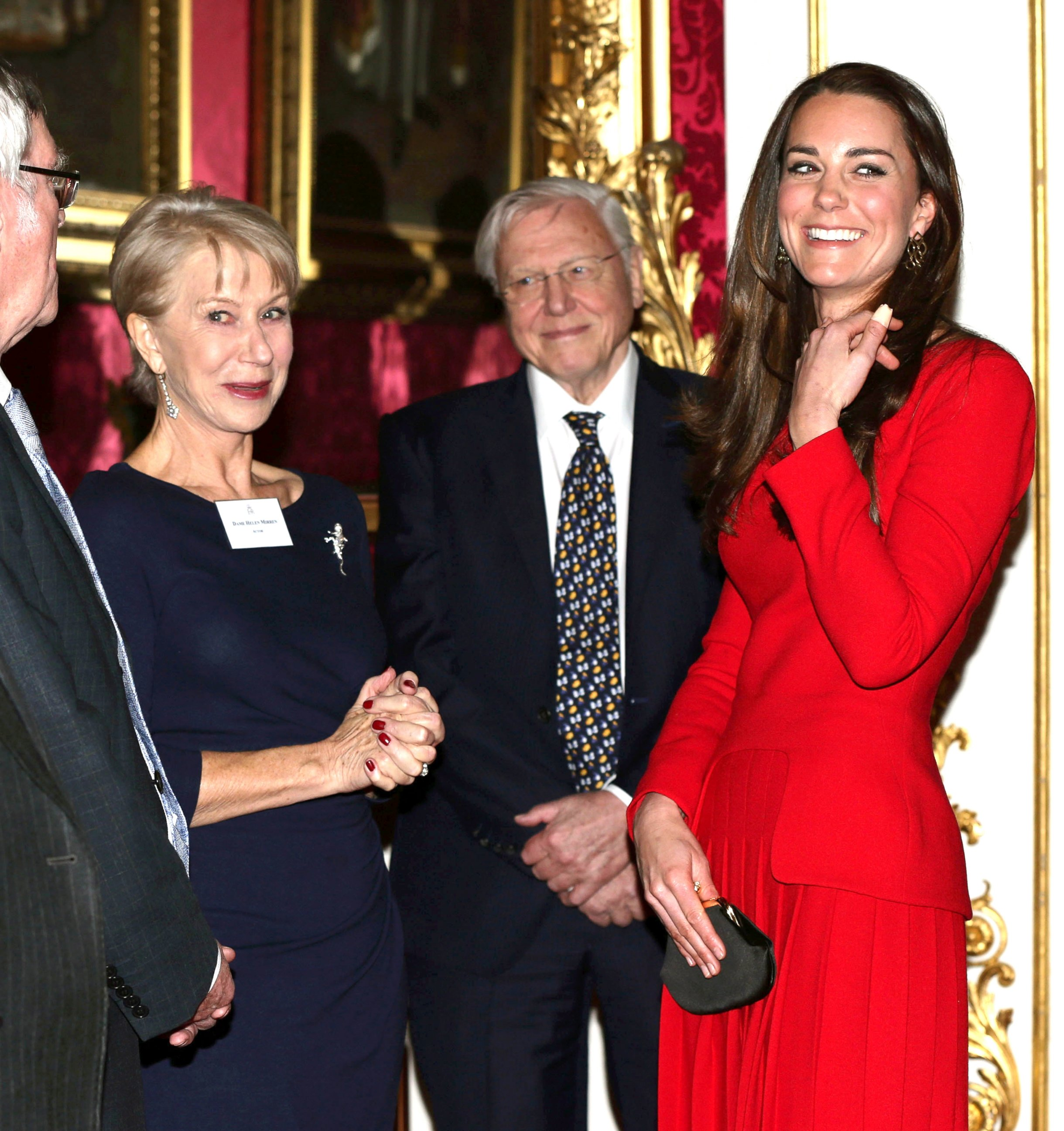 Why Kate Middleton Hung Out with Helen Mirren