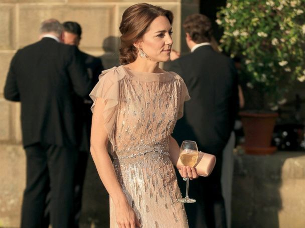 Photos:  Duchess Kate Stuns in a Dress She First Wore in 2011