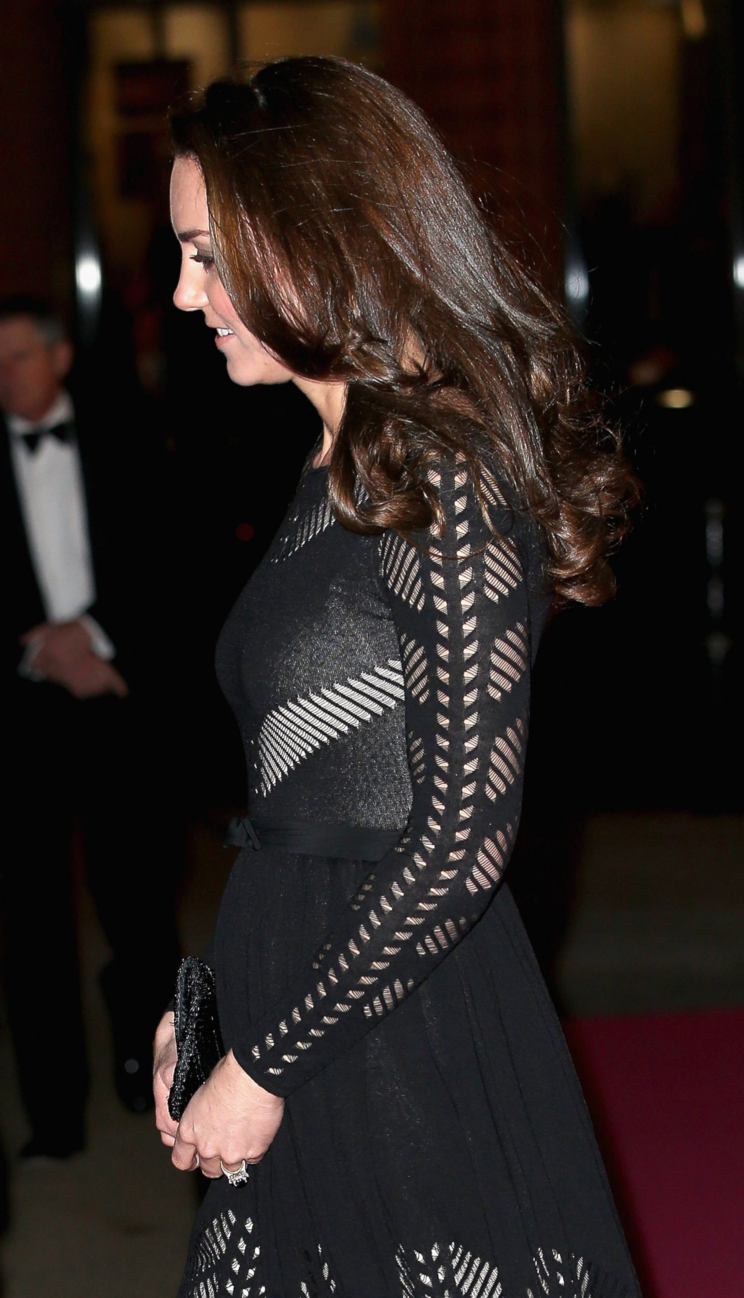 Kate Middleton Shows Off Her Baby Bump