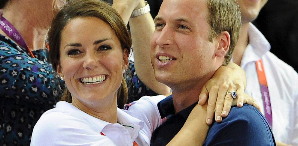 PHOTO: Catherine, Duchess of Cambridge and Prince William,
