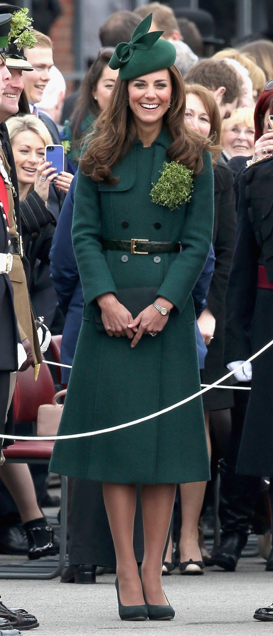 Kate Middleton Goes Green for St. Patrick's Day