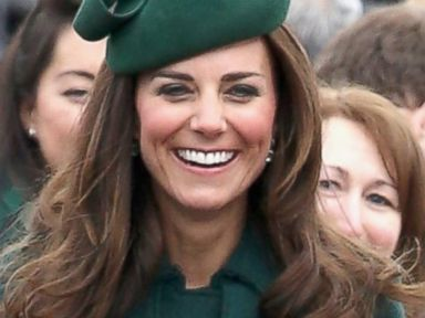 Photos: Kate Middleton Goes Green From Head to Toe (Literally!)