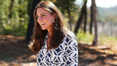 Kate Middleton Rocks a Pattern Down Under