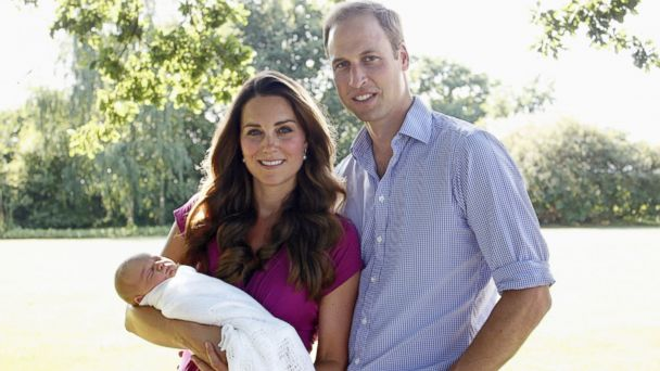 GTY kate william george jef 140306 16x9 608 Prince George Has a New Nanny