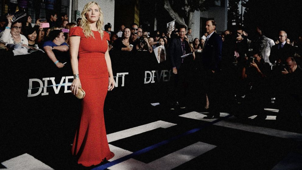 "PHOTO: Kate Winslet attends Summit Entertainments ""Divergent"" Premiere at Regency Bruin Theatre"