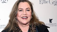Kathleen Turner Attends a Premiere