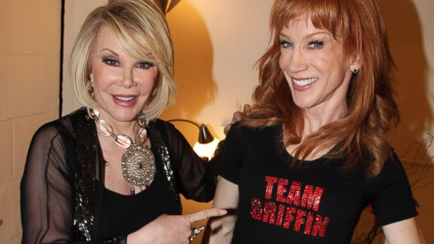 GTY kathy griffin joan rivers jtm 141124 16x9 608 Kathy Griffin Mulls Replacing Joan Rivers on Fashion Police