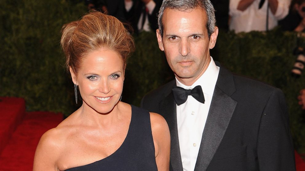 PHOTO: Katie Couric and John Molner
