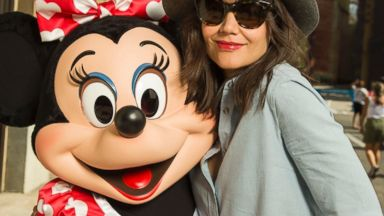 Katie Holmes Hits Disney World