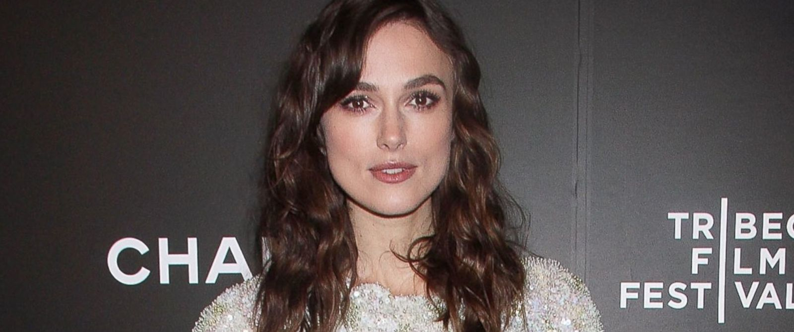 "PHOTO: Keira Knightley attends the closing night gala premiere of ""Begin Again"" during the 2014 Tribeca Film Festival at BMCC Tribeca PAC, April 26, 2014, in New York City."