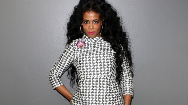 PHOTO: Kelis visits 106 & Park at BET studio, April 24, 2014 in New York City.
