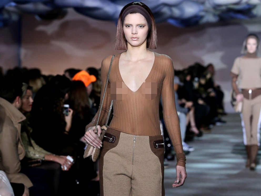 PHOTO: Kendall Jenner walks the runway at the Marc Jacobs fashion show during Mercedes-Benz Fashion Week Fall 2014 at the New York State Armory, Feb. 13, 2014, in New York City.