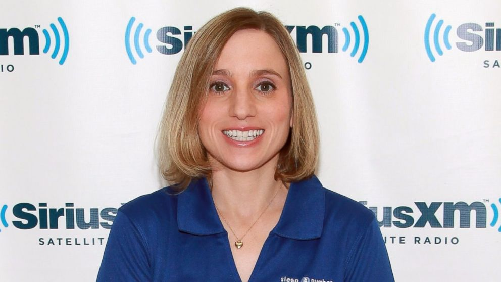 PHOTO: Olympic gold medalist Kerri Strug visits SiriusXM Studios on July 3, 2012, in New York City.
