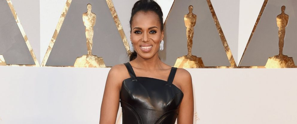 PHOTO:Kerry Washington attends the 88th Annual Academy Awards, Feb. 28, 2016, in Hollywood, Calif.