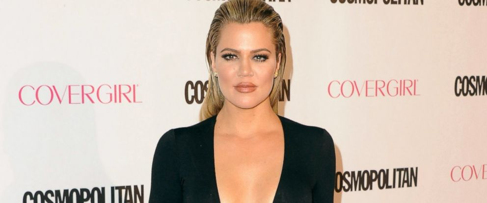 PHOTO: Khloe Kardashian arrives at Cosmopolitan Magazines 50th Birthday Celebration at Ysabel, Oct. 12, 2015, in West Hollywood, Calif.