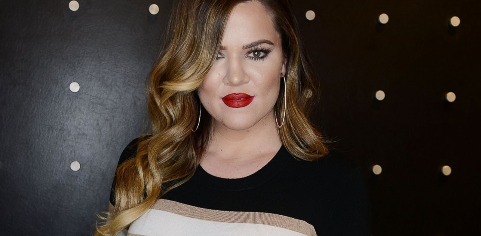 PHOTO: Khloe Kardashian poses for a photo at Kardashian Khaos in the Mirage Hotel and Casino, Jan. 25, 2014 in Las Vegas.