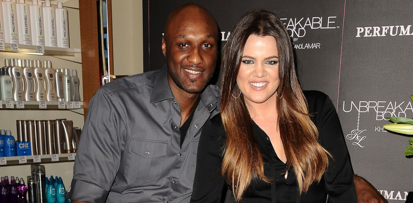 PHOTO: In this file photo, Lamar Odom, left, and Khloe Kardashian, right, are pictured in Orange, Calif. on Jun. 7, 2012.
