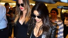 Khloe, Kim and Kourtney Kardashian Take Miami