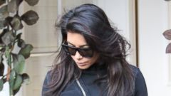 Could It Be?! Kim Kardashian Rocks Sweats in Los Angeles