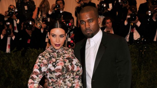 "PHOTO: Kim Kardashian and Kanye West attend the Costume Institute Gala for the ""PUNK: Chaos to Couture"" exhibition at the Metropolitan Museum of Art in this May 6, 2013, file photo in New York City."
