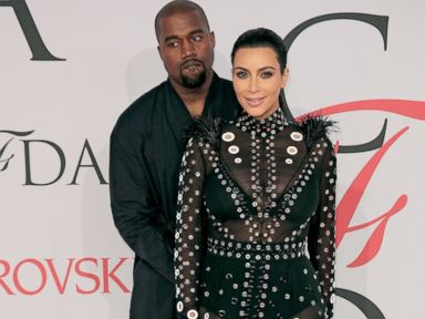 PHOTO: Kanye West and Kim Kardashian West attend the 2015 CFDA Fashion Awards at Alice Tully Hall at Lincoln Center, June 1, 2015, in New York City.