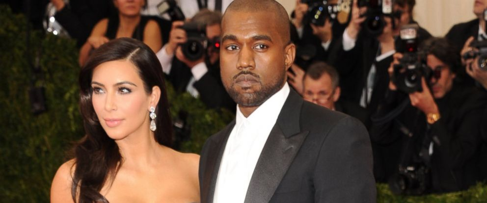 "PHOTO: Kim Kardashian, left, and Kanye West, right, attend the ""Charles James: Beyond Fashion"" Costume Institute Gala at the Metropolitan Museum of Art on May 5, 2014 in New York City."