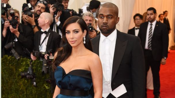 "PHOTO: Kim Kardashian, left, and Kanye West attend the ""Charles James: Beyond Fashion"" Costume Institute Gala at the Metropolitan Museum of Art on May 5, 2014 in New York City."