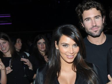 PHOTO: Kim Kardashian and Brody Jenner attend the E! Entertainment 2013 Upfront at The Grand in New York, April 22, 2013.