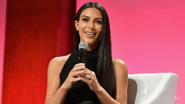 PHOTO: Kim Kardashian-West speaks at The Girls' Lounge dinner, Sept. 27, 2016, in New York.