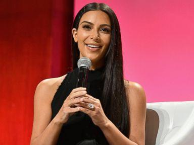 PHOTO: Kim Kardashian-West speaks at The Girls Lounge dinner, Sept. 27, 2016, in New York.