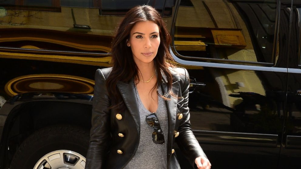 PHOTO: Kim Kardashian is pictured on March 25, 2014 in New York City.
