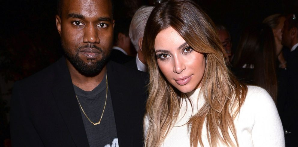 PHOTO: Kanye West and Kim Kardashian attend Dream for Future Africa Foundation Inagural Gala honoring Franca Scozzania of VOGUE Italia at Spago in Beverly Hills, Calif., Oct. 24 2013