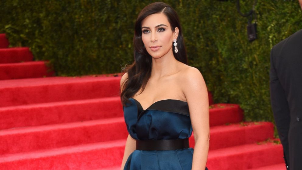 "PHOTO: Kim Kardashian attends the ""Charles James: Beyond Fashion"" Costume Institute Gala at the Metropolitan Museum of Art on May 5, 2014 in New York City."