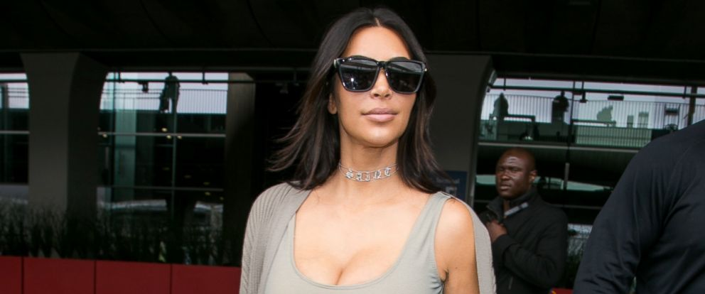 PHOTO: Kim Kardashian West arrives at Chrle-de-Gaulle airport, June 13, 2016, in Paris.