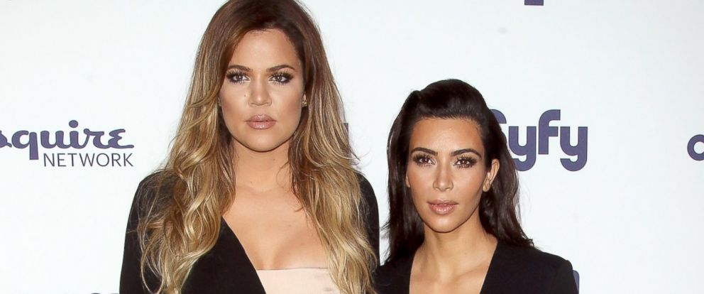 PHOTO: Khloe Kardashian and Kim Kardashian attends the 2014 NBCUniversal Cable Entertainment Upfronts, May 15, 2014, in New York City.