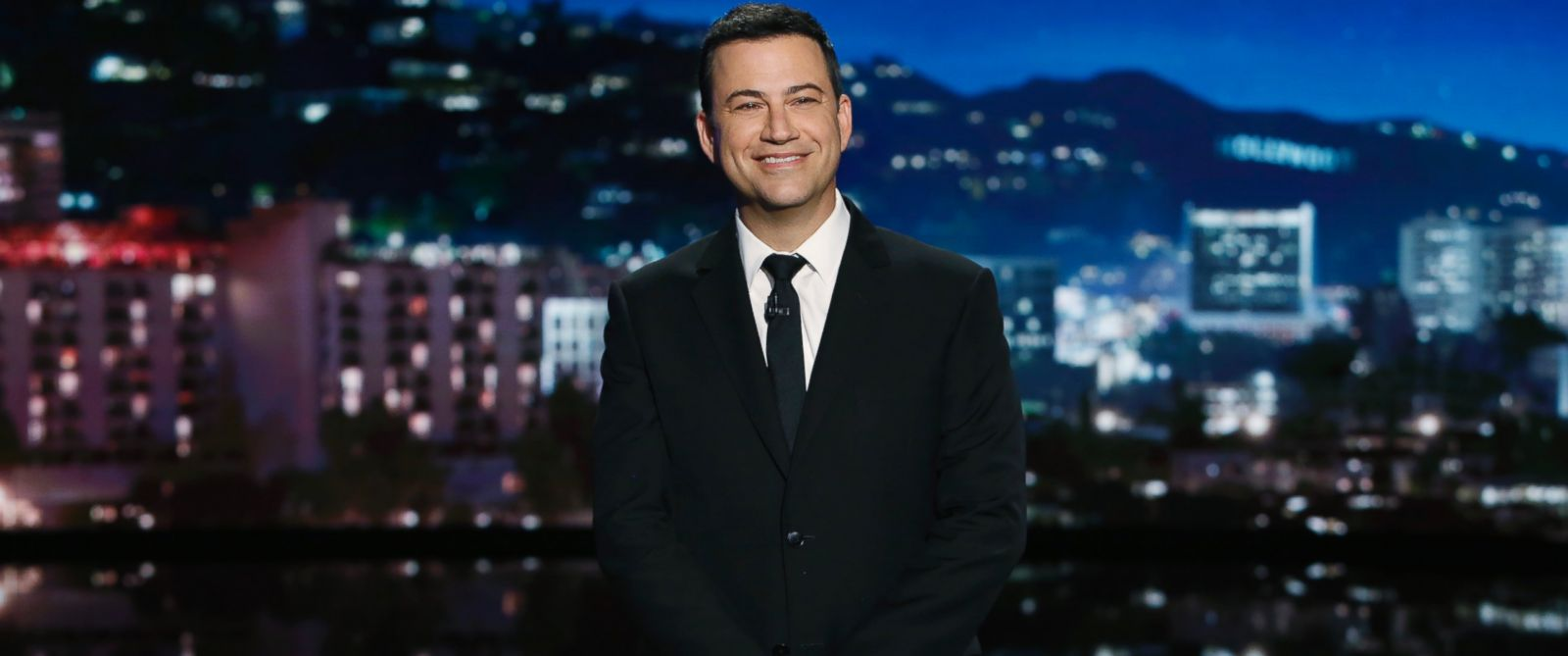 "PHOTO: Jimmy Kimmel is pictured in a still from ""Jimmy Kimmel Live!"""