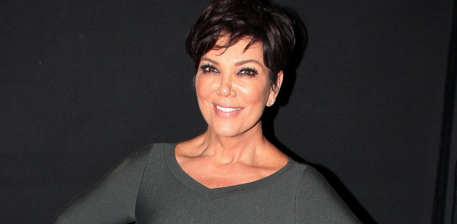 PHOTO: Kris Jenner poses backstage at Chicago on Broadway at The Ambassador Theater, Sept. 23, 2013 in New York.