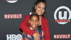 La La Anthony Hits Red Carpet With Son Kiyan Carmelo Anthony
