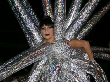 Lady Gaga Rocks Inflatable Fashion