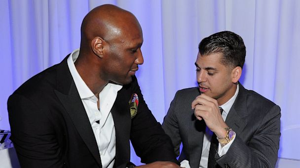 PHOTO: Lamar Odom and Rob Kardashian