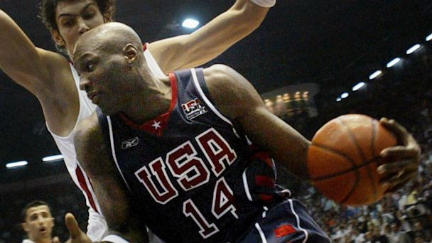 PHOTO: Lamar Odom of the USA